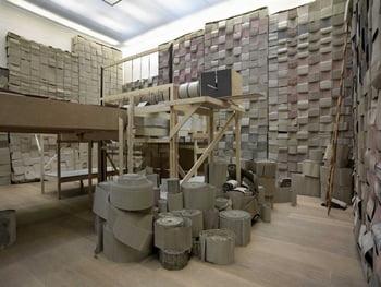 Le Grand Cafe Contemporary Art Centre, Saint-Nazaire presents Michael Beutler  Knock Knock