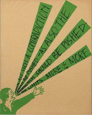 Art & Language, Shouting Men, 1974. Col·lecció MACBA. Consorci MACBA. Dipòsit Philippe Méaille