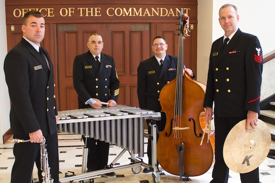 United States Naval Academy (USNA) Band's The Commandant's Combo