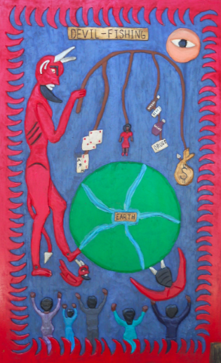 Leroy Almon, Devil Fishing, 1992. From the House of Blues Collection