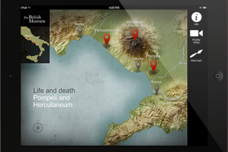 British Museum announces Pompeii and Herculaneum app