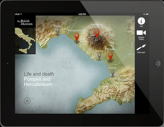 Pompeii and Herculaneum app