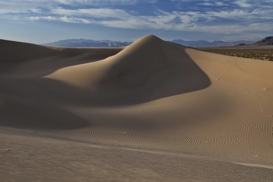 Cadiz Dunes Wilderness, Calif. Located in the remote heart of the California Desert, much of this wilderness is an active dunefield. Photo: Bob Wick, Bureau of Land Management