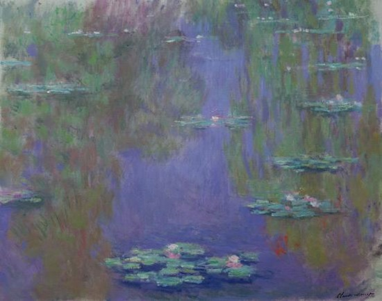Claude Monet French 1840–1926 Waterlilies (Nymphéas) (1903) oil on canvas 73.0 x 92.0 cm Musée Marmottan Monet, Paris Gift of Michel Monet, 1966 (inv. 5163) © Musée Marmottan Monet, Paris, © Bridgeman-Giraudon / Presse