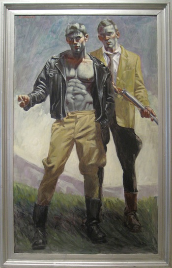 Mark Beard, Two Men Standing, date unknown