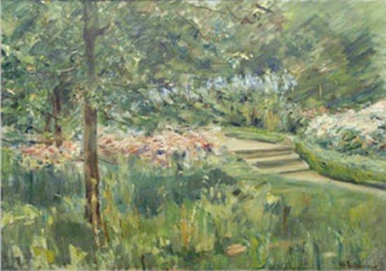 Max Lieberman, Garden in Wamsee, 1923, The Israel Museum, Jerusalem