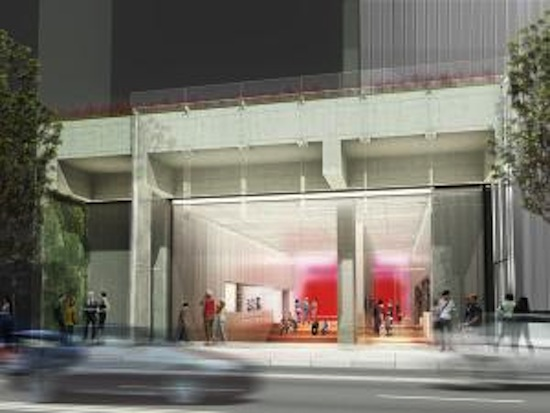 Designs for the new 53 Street branch of The New York Public Library; copyright TEN Arquitectos