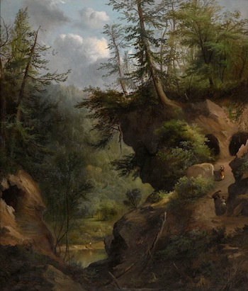 Robert Seldon Duncanson (1821–1872), The Caves, 1869. Oil on canvas. Amon Carter Museum of American Art, Fort Worth.