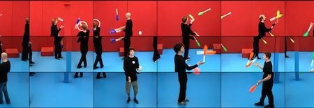 Whitney presents the U.S. premiere of The Jugglers by David Hockney