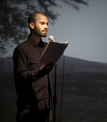 Uriel Orlow, The Reconnaissance, 2012. Multimedia installation. Photo: Sam Nightingale.