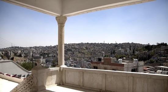 View of Amman from Darat al Funun. Image courtesy Darat al Funun–The Khalid Shoman Foundation.