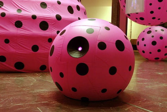 Yayoi Kusama, Dots Obsession – Love Transformed into Dots, 2006. Mixed media, variable dimensions. Courtesy Yayoi Kusama Studio Inc., Ota Fine Arts, Tokyo and Victoria Miro, London. © Yayoi Kusama.