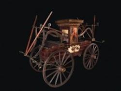 19th-Century Fire Pumper