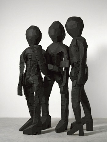 Georg Baselitz  'Untitled'  2013  Bronze © Georg Baselitz  Courtesy the artist and White Cube
