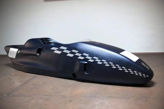 Body of Racing Sidecar 1000 cc , 2012. Constructor: Franco Martinel. Design: Gianni Piacentino. Copyright Gianni Piacentino
