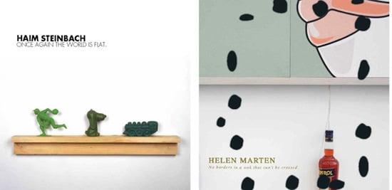 Haim Steinbach and Helen Marten