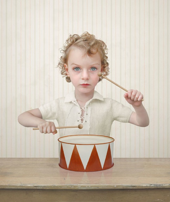 Loretta Lux, The Drummer, 2004. Ilfochrome print. The Sondra Gilman and Celso Gonzalez-Falla Collection of Photography. © Loretta Lux, Courtesy Yossi Milo Gallery, New York / © 2013 Artists Rights Society (ARS), New York / VG Bild-Kunst, Bonn