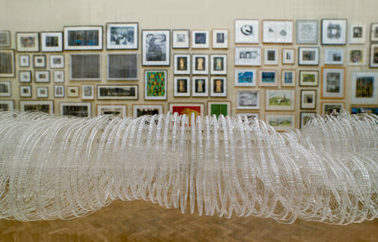 Installation view of Gallery I with Marilene Oliver's 'Dreamcatcher' (detail). Summer Exhibition 2013. © Royal Academy of Arts.