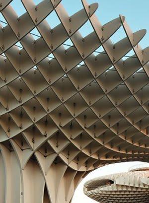 Metropol Parasol (detail), Sevilla, 2004-2011. Photo: Fernando Alda