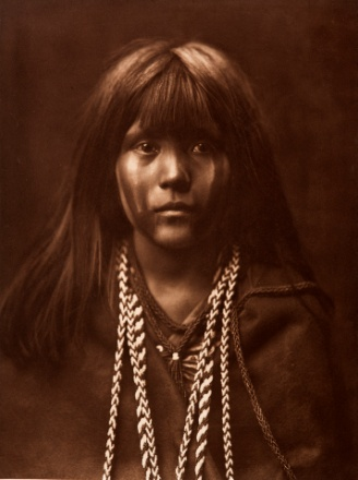 Mosa-Mohave by Edward S. Curtis, 1903, photogravure, from the permanent collections of Arizona State Museum.