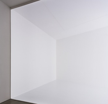Robert Irwin, Square the Room, 2007. Installation. Collection Museum of Contemporary Art, San Diego. Photo © Philipp Scholz Rittermann.