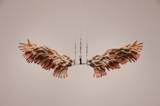 Xoo-ang Choi, The Wing, 2008. Oil on resin, 56 x 172 x 48 cm. © MMCA.