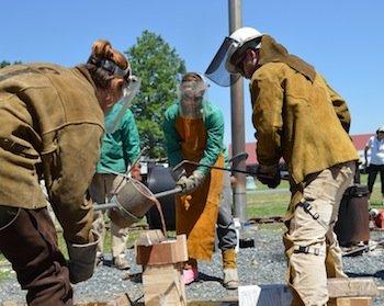 bronze casting program