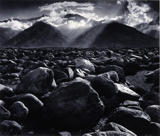 Ansel Adams Mount Williamson, The Sierra Nevada, from Manzanar, California by Ansel Adams ©2013 The Ansel Adams Publishing Rights Trust.
