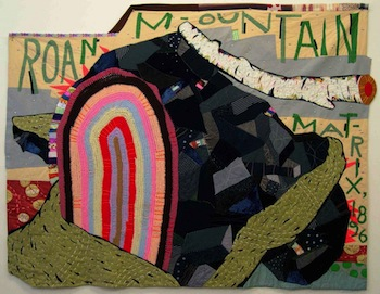 Denise Burge, Roan Mountain Matrix, 2001, 70 in x 84 in. Photo courtesy of the artist.