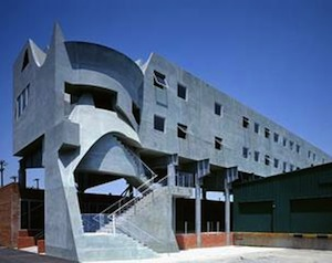 Eric Owen Moss Architects Samitaur, Los Angeles,  1996 © Tom Bonner