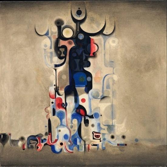 Ibrahim El-Salahi Vision of the Tomb 1965 Museum for African Art, New York © Ibrahim El-Salahi
