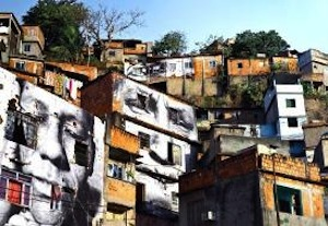 JR. Women Are Heroes, Brazil, 2013