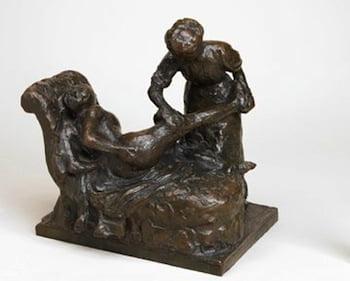 Walker Art Gallery acquires La Masseuse (The Masseuse) sculpture by Edgar Degas