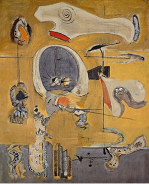 Sea Fantasy, 1946. Oil paint on canvas. Gift of The Mark Rothko Foundation, Inc., National Gallery of Art, 1986.43.8 ©1998 Kate Rothko Prizel & Christopher Rothko/Artists Rights Society (ARS), New York. Image courtesy National Gallery of Art, Washington, D.C