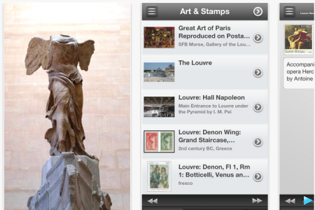Mobile App for Paris Museums Created with Tour Buddy