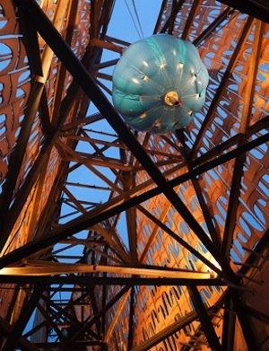 nstallation view of CODA's Party Wall at MoMA PS1. June 2013. Photo: Zachary Newton