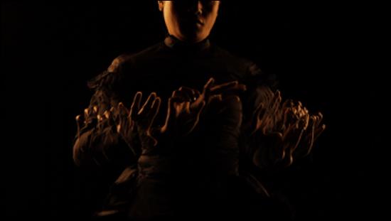 Shigeyuki Kihari (Samoan, b. 1975). Still from Galu Afi; Waves of Fire, 2012, digital video. Collection of the James Wallace Arts Trust. Courtesy Shigeyuki Kihara Studio and Milford Galleries Dunedin, New Zealand.