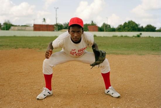 Simon Willms, Juan Manuel Aquino 2009. From the series Beisbol . Courtesy of the artist.