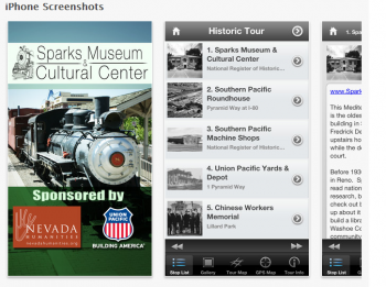 Sparks Nevada Historic Mobile App Tour