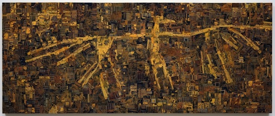 Wally Dion (Saulteaux), b. 1976 Thunderbird, 2008 Circuit boards, plywood, acrylic paint Collection of the MacKenzie Art Gallery, purchased with the financial support of the Canada Council for Art Acquisition Assistance Program