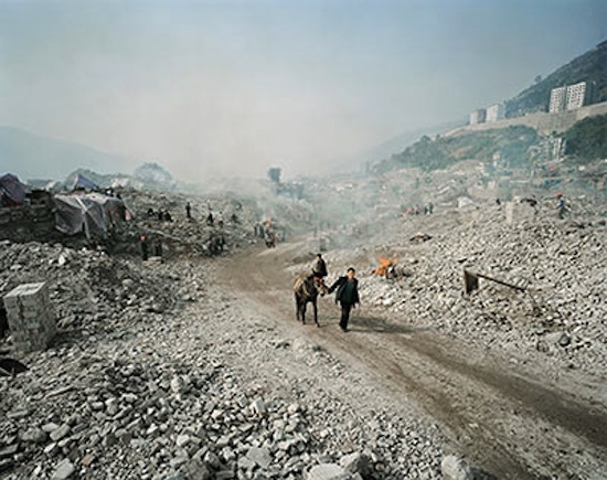 """Three Gorges Dam Project, Feg Jie #5"" Three Gorges Dam Project, Yangtze River, China Photo: Edward Burtynsky"