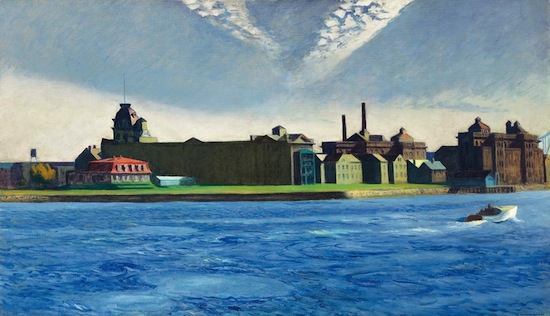 Edward Hopper, Blackwell's Island, 1928. Oil on canvas. Crystal Bridges Museum of American Art, Bentonville, Arkansas. Photo © Christie's Images.