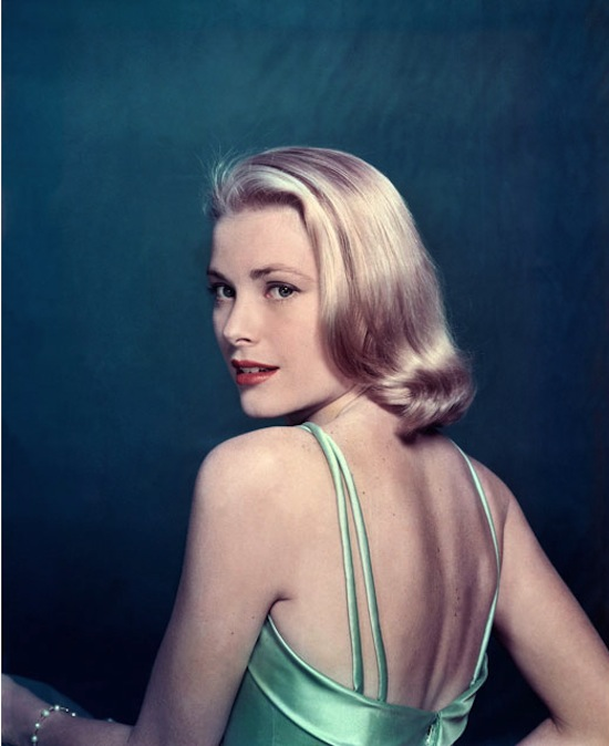 "Grace Kelly, posing for ""Life"" magazine. 1954. © Philippe Halsman/Magnum Photos"