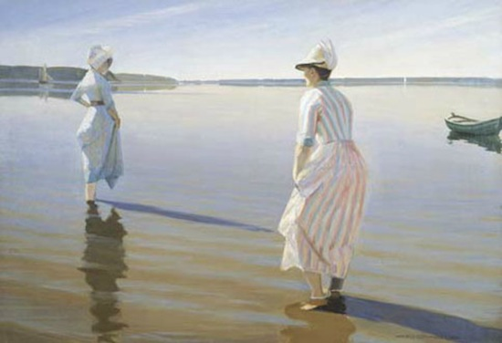 Harald Sløtt-Moller, Summer Day, 1888. Oil on canvas, 48 ½ x 70 in.