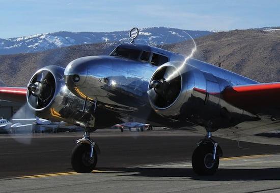The Museum of Flight's Lockheed Model 10-E Electra. Tom Cathcart/The Museum of Flight.
