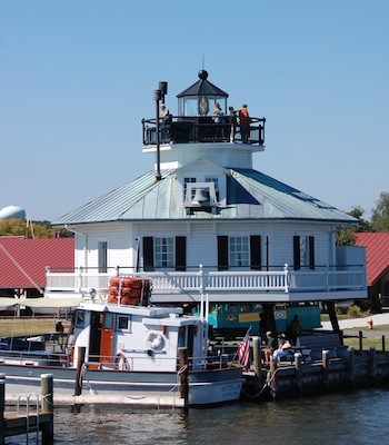 Kids ages 8-12 travel back through time to explore the adventurous, exciting, and sometimes dangerous life of a late 19th-century lighthouse keeper while staying overnight in the 1879 Hooper Strait Lighthouse at the Chesapeake Bay Maritime Museum in St. Michaels, MD.