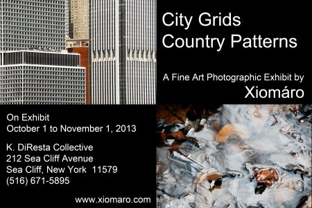 """Sea Cliff's K. DiResta Collective Exhibits """"City Grids, Country Patterns"""" Photos"""