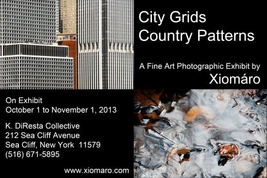 "Xiomaro's ""City Grids, Country Patterns"" Photo Exhibit"