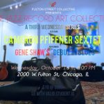 "Jazz Musicians and Artists Unite For Gene Shaw's ""Debut in Blues"" at Fulton Street Collective"