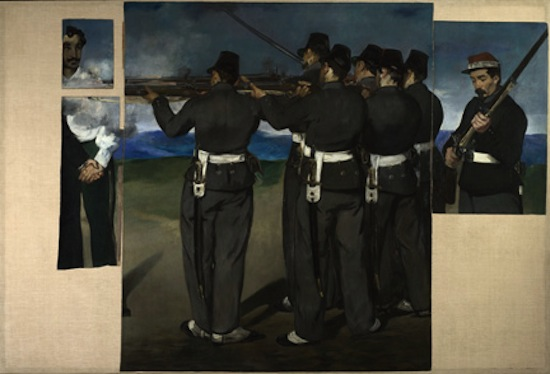 Manet, The Execution of Maximilian, about 1867-8